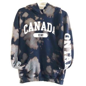 Custom Ontario Canada hoodie. Size L.